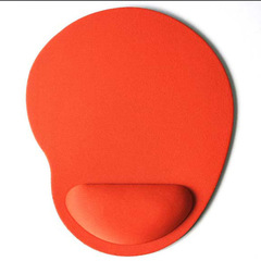 Mouse Pad Wrist Protect Optical Trackball PC Thicken Mouse Pad Soft Comfort Mouse Pad Mat Mice red one size