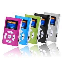 fashion USB Mini MP3 Player LCD Screen listen to music Screen Support SD Card Slick stylish design pink