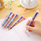 1 piece / 6 in 1 color pen novelty multicolor ball pen multi-function stationery school supplies