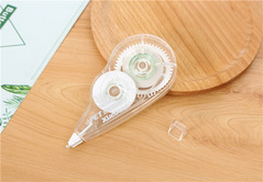 1piece Creative and transparent correction tape Office stationery packaging tape