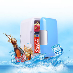 4Lcar mini refrigerator outdoor dormitory small refrigerator car home dual-use portable refrigerator