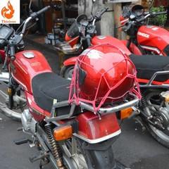 Motorcycle luggage net helmet net bag fuel tank net cover sundries mesh cover elastic mesh rope(2019 new)