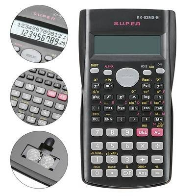 Multifunctional Calculator for Mathematics Teaching Students Function Display Scientific Calculator