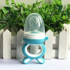 Color Portable Infant Food Baby Nipple Feeder Silicone Pacifier Fruits Feeding Supplies Soother N