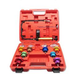 14pcs Water tank leak Detector Automotive cooling system tester Auto repair pressure gauge Air pump