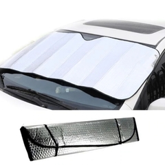 Car sun front block foam sun block car sunscreen sun visor High quality foam coated aluminum film silver color 130*60 cm