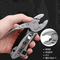 Outdoor camping multi-purpose pliers pliers wrench tool combination Wire cutters Adjustable wrench As shown One size