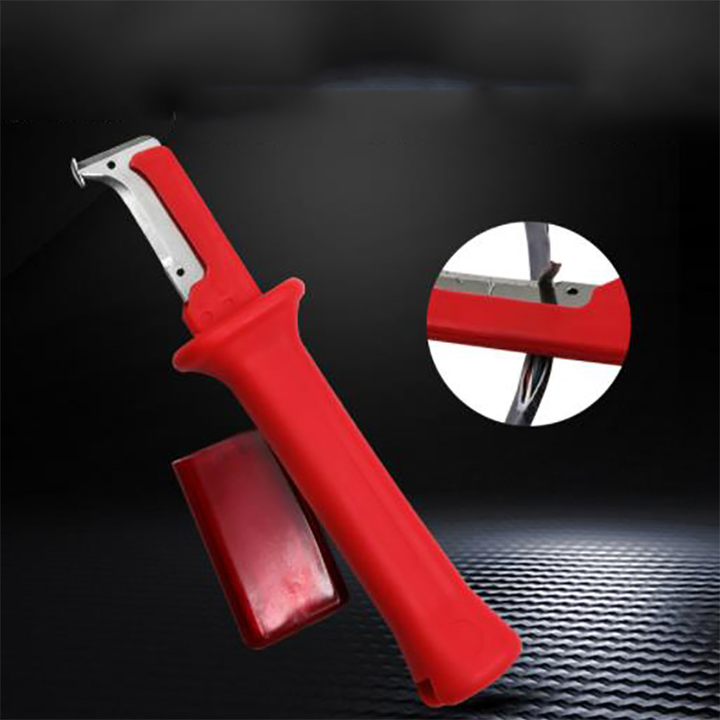 Insulation stripping knife German electric insulation stripping knife Manual stripping knife as shown one size