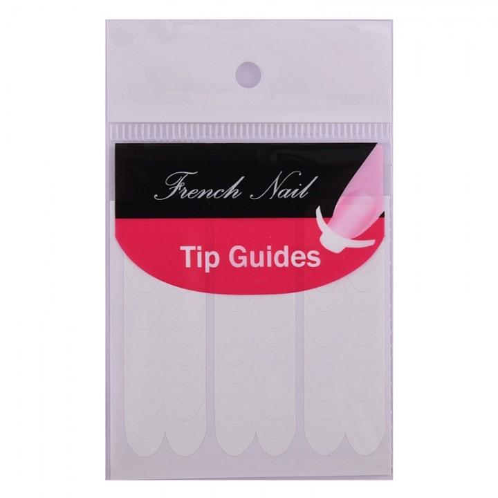 Rosalind 5 Packs Tip Guides Pedicure Diy Nail Art Stickers Makeup