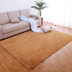 thick Anti-slip  Carpets For Living Room Modern Area Rug For Bedroom Soft and Comfortable Mat Khaki 40*60