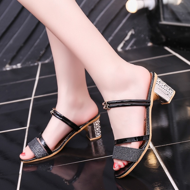 4195f35fe40 2018 New Summer high heels shoes sandals Lace Up Fashion Sexy Lady ...