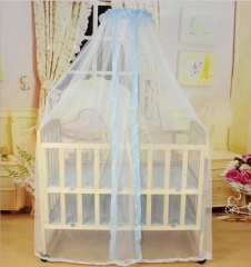 Classical Outdoor Hang Dome Mosquito Nets For baby Circular Lace Insect Bed Canopy Netting Curtains yellow one size