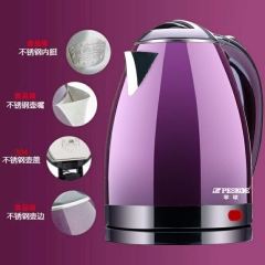 electric kettle perfect purple