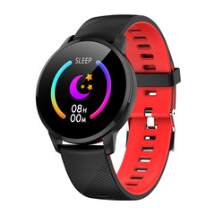 Smartwatch CY16 Push Message Bluetooth Smart Watches Men Hands-Free For Android And Iphone Phones red one size