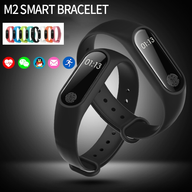 Intelligent Wristband Heart Rate Movement Step Call Remind Pofession  Waterproof Andrews Ios General black one size