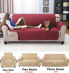 Home Decor 1/2/3 Seater Slipcovers Elastic Fabric Sofa Cover Pet Dog Cat Sectional Furniture Covers blue 1 seat