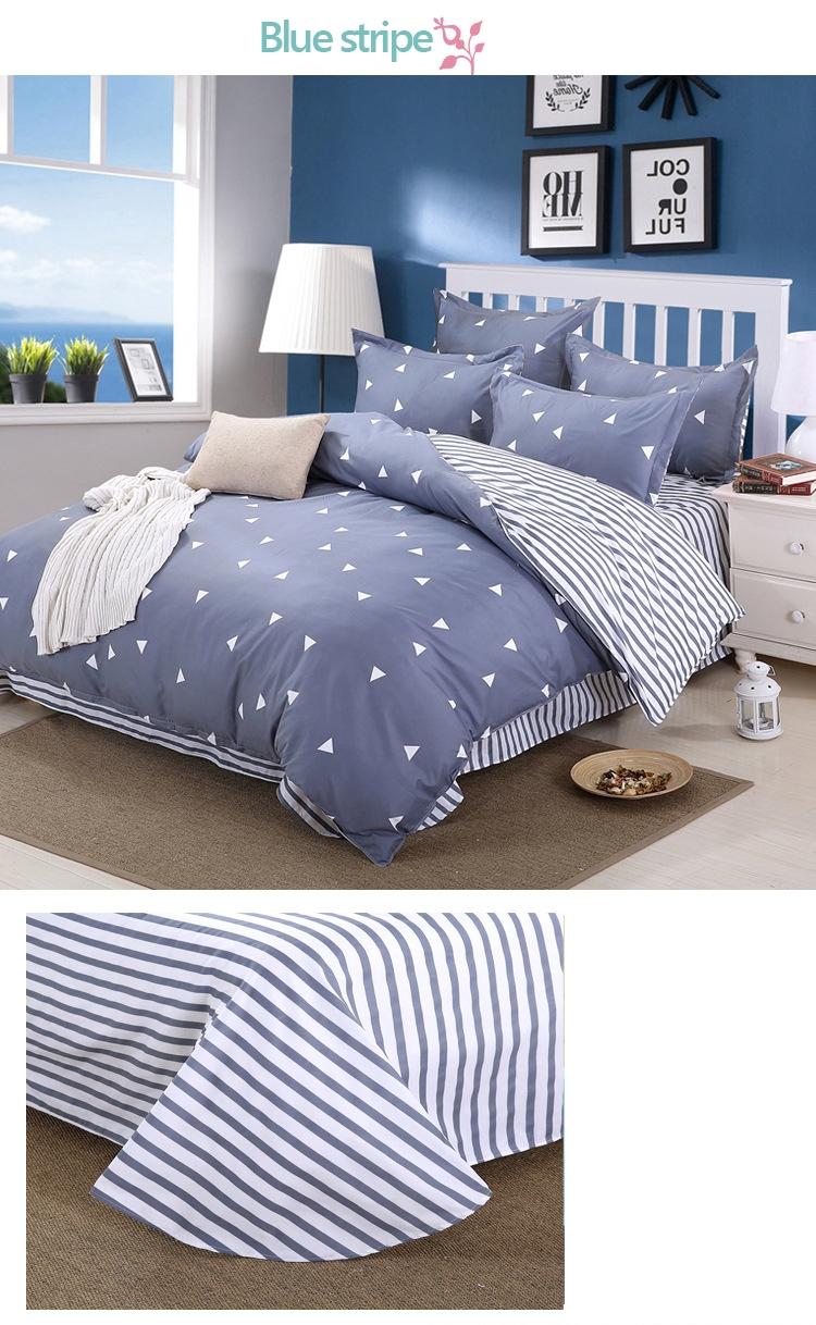 b59ee0f4fff5 4pcs bedding set queen double bed size bedclothes Comforter Duvet ...