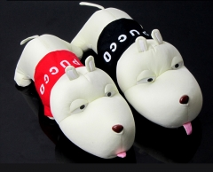 Car, cartoon charcoal dog, car decoration, charcoal package, odor charcoal package red 30*13*12cm