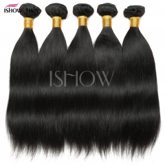 Real hair drapes in Brazil can be ironed and dyed natural color 25cm
