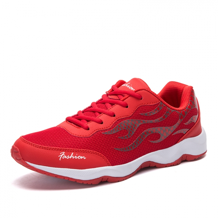 brand new df08e fc6ce Outdoor Men Run Shoes Sneakers Rubber Soles Breathable Workout Fitness  Walking Shoes red 43