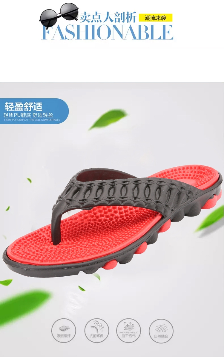 5b5a54e0619d42 Insole Material  pu. Pattern Type  Solid Oppening Type  Slip-On  Character:Hard-wearing. Season Spring Summer Fall Winter Men s flip-flops  ...