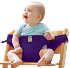 Usefull Cute Baby Feeding Girdle Prevent baby falling Bump collision Artifact violet one size