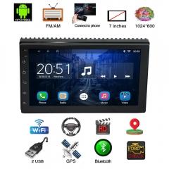 7 Inch Car GPS Navigation System Touch Screen Location OBD WIFI Navigator Bluetooth USB MP3 MP4 black 7 Inch