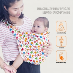 Embrace baby Artifact! Baby backpack Baby strap or cloth Sleeping bag Mother's breast feeding bag Apple pattern one size