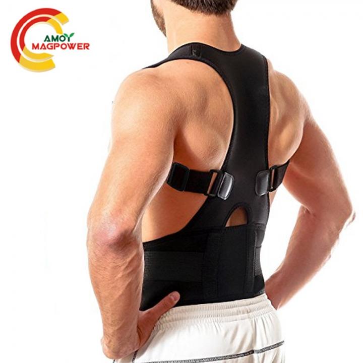 Back Brace Posture Corrector Improves Posture Corrector Support Belts For Upper Back Pain Relief black m