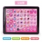 Kids Toys Electronic Early Educational Learning Tablet Computer Best Christmas Birthday Gift pink 14.2×2×18.6cm