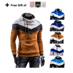 Men Coloured hat hooded Sweater Sports and leisure wear, Spring and autumn men style 1 l