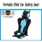 Portable car safety seat Simple Convertible Car Seat Child Gift Car Seat Cushion Protector blue one size