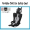 Portable car safety seat Simple Convertible Car Seat Child Gift Car Seat Cushion Protector gray one size