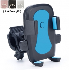 Bicycle handset bracket Bike / Bicycle Phone Mount Holder for iPhone Android Smartphone Mobile Phone Blue