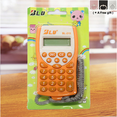 Electronic Calculator 8 Digits Electronic Mini Scientific Calculato with Rope for Students