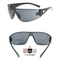 Car Driving Sunglasses Riding glasses Night Vision Wrap Arounds Lens Over Unisex Glasses Black 134X113mm