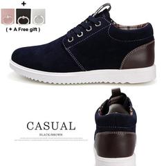 Men's Fashion Casual Shoes Men Comfortable Breathable Shoes For Men black 40