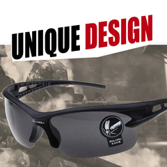 Sunglasses Goggles for men and women Outdoor Sports glasses Grey and black black 148*43*121mm