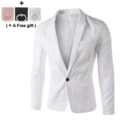 Men's Business Suit Leisure suit Business coat Multicolor optional Groom's suit Groomsman suit white xxxl