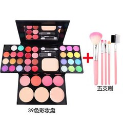 39 colors Complete set of makeup box add Five Paints Eyeshadow novice Stage makeup Cosmetics kit Colorful