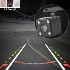 Car Reversing camera LED HD night vision camera 170 degrees night vision bargains Black