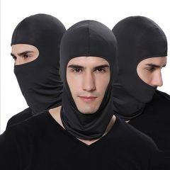 Full face mask Neck protection Scarves dust prevention Multi-Purpose Bargains black normal