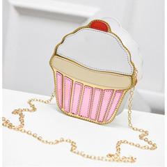 MONDAY Creative Ice Cream Handbag and Cupcake Shoulder Bag Coin Wallet for Girls cupcake bag as discription