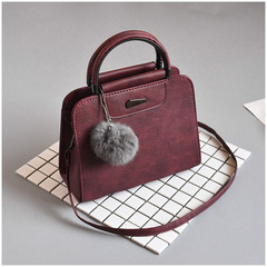 MONDAY Women Handbags Ladies Small Shopping Bag Women's Bags PU Shoulder Messenger Crossbody Bags red 23*18*10cm