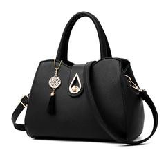 MONDAY Shoulder Bags Tote Purse Satchel Women Messenger Hobo Bag black 27*20*14cm