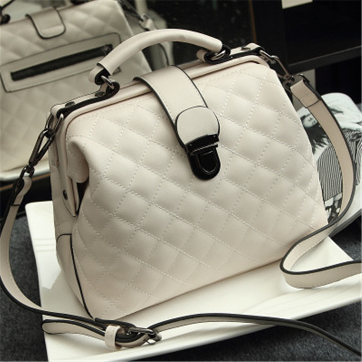 MONDAY Genuine Leather Bags for Women 2019 Matte Finish Purse Crossbody Bags for Ladies Hand Bags white 27*10*19cm