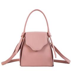 MONDAY Women's Bag Backpack Shape Shoulder Bag Small Crossbody Leather Bag Handbag for Girls pink 16*16*11.5cm