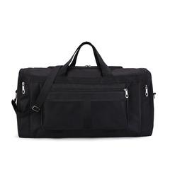 MONDAY Mens Travel Bag Luggage Handbag Duffle Gym Bag Large Oxford Cloth Tote Bag black 56*24*29cm