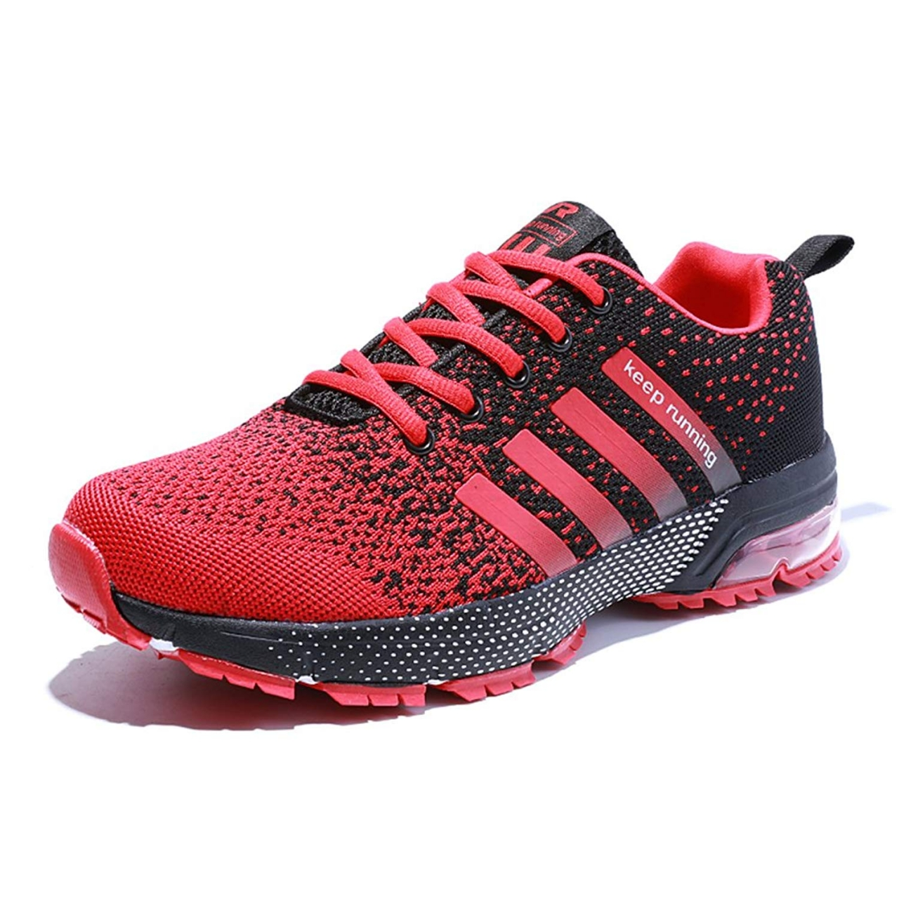 b425fb7f6 Men's Breathable Knit Athletic Shoes Solf Lightweight Running Sneskers  Outdoor Workout Gym Tennis red 41: Product No: 1814458. Item specifics:  Brand: