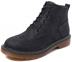 Gagigakac Women's Shoes Suede Classic Ankle Boots